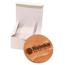 Coaster Boxes with tissue