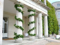 portico at Goodwood House