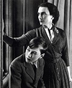 Princess Alice, Duchess of Gloucester with her son Prince William.  I love this picture.