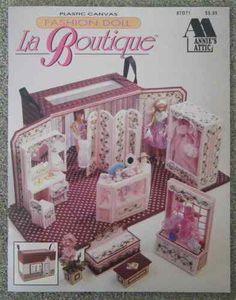 La Boutique Barbie Fashion Doll Plastic Canvas Pattern Annie's Attic