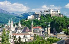 Salzburg, Austria - one of my favorite places! I simply loved it there both times I visited.
