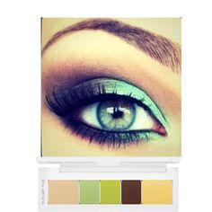 Makeup for green eyes @Christine Smythe Smythe Smythe