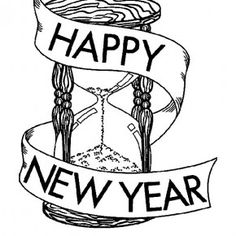 New Years Coloring Page BY Innovative Teacher