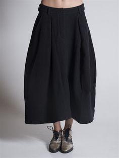 BLACK CELEBRATION - Round Cargo Skirt