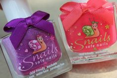 Snails: Safe, Washable Nail Polish (**GIVEAWAY**) (WW, 8/5/13)