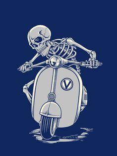 Illustration for T-shirt design. Done for Loose Threads Australia.