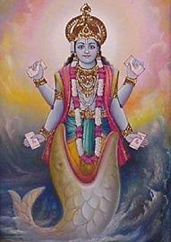 పోతన తెలుగు భాగవతం గణనోపాఖ్యానం: మత్స్యావతార కథ - 3: