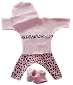 Wild Pink Leopard Baby Girl Clothing Set (Small « Clothing Impulse