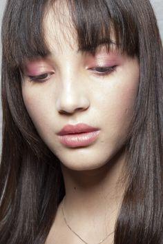 Rosegold eyeshadow, lips and cheeks