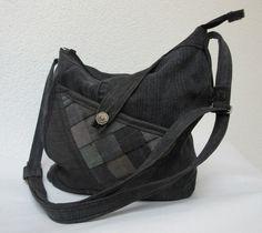 """Jeans Tasche asymmetrisch """"Sperling"""" von Gasani  auf DaWanda.com"""