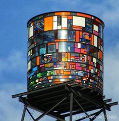 Water tank Brooklyn New York