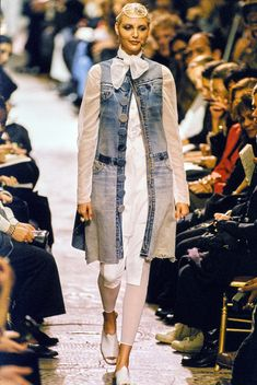 Jean Paul Gaultier Spring 1994 Ready-to-Wear Fashion Show - Nadja Auermann
