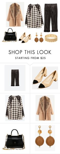 """look del dia"" by aliciagorostiza on Polyvore featuring moda, Dolce&Gabbana y Chico's"