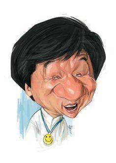 Caricaturas by Daniel Alho / Jackie Chan