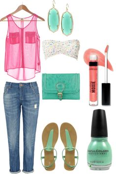"""Summer Lovin'"" by mverros on Polyvore"