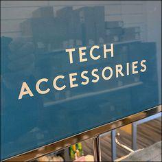 Tech-Accessories Assortment Tower Display Retail Fixtures, Store Fixtures, Metal Store, Perforated Metal, Slat Wall, Tech Accessories, Hooks, Tower, Nordstrom