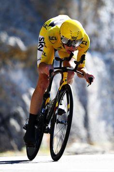 Chris Froome ITT Stage 13 Tour de France 2016 Michael Steele/Getty Images