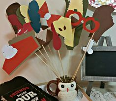 handmade thanksgiving photobooth props. check out http://www.karlitaskreations.com/ to place your custom orders.