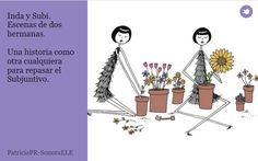 B1/B2 - Una pequeña historia para repasar el Subjuntivo Subjunctive Spanish, Spanish Grammar, Ap Spanish, Spanish Teacher, Spanish Classroom, Spanish Lessons, How To Speak Spanish, Teaching Spanish, Teacher Style