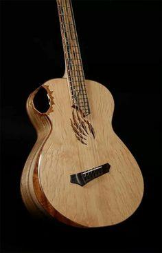 Bijzonder deze Crow hill guitar