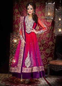 Indian Womens Pakistani Salwar Kameez Bollywood Designer Anarkali party wear