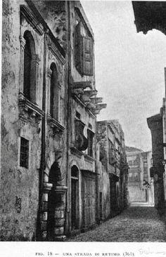 Σοκάκι στο Ρέθυμνο 1900... Old Photos, Vintage Photos, Crete Island, Greek History, Crete Greece, Old Maps, The Old Days, Santorini, Athens