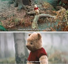 trendy quotes winnie the pooh eeyore christopher robin Cute Winnie The Pooh, Winne The Pooh, Winnie The Pooh Quotes, Eeyore Quotes, Pooh Bear, Tigger, Disney Channel, Christopher Robin Movie, Sakura Card Captor