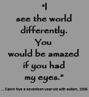I often feel this way about my autistic son.