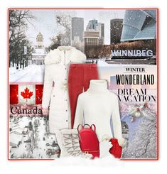 """#PolyPresents: Dream Vacation - Winter Wonderland - Winnipeg Canada"" by kiki-bi ❤ liked on Polyvore featuring Miss Selfridge, Uniqlo, Polo Ralph Lauren, MICHAEL Michael Kors, SOREL, contestentry and polyPresents"