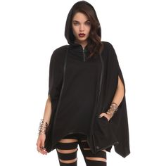 Disney Maleficent Bat Wing Pullover Hot Topic ($50) ❤ liked on Polyvore featuring disney