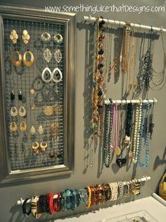 Vintage Shop Inspiration •~• jewelry display