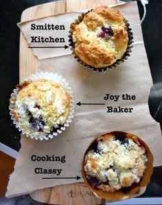 Cannella Vita: recipe showdown: blueberry muffins