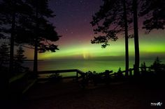 Big Dipper & Northern Lights Miners Beach at Pictured Rocks National Lakeshore