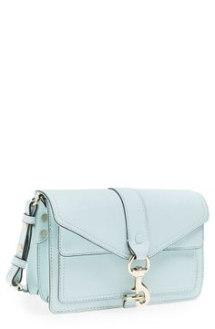 Pretty turquoise crossbody for work and play.