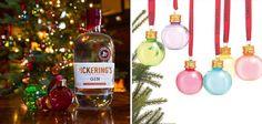 Cette marque de gin transforme les boules de Noël en mini-shots
