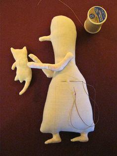 the beginning of the art doll , Sandy Mastroni | Sandy Mastroni | Flickr