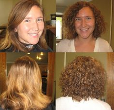 27 Best Before And After Perm Images Perms Perm Hairstyles