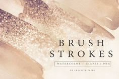 Brush Stroke Png, Brush Strokes, Graphic Projects, Scene Creator, Watercolor Brushes, Texture Design, Watercolor Background, Journal Cards, Design Bundles