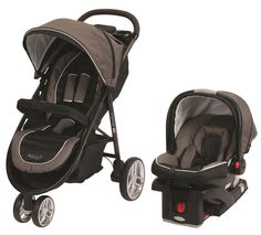 Graco® Aire3™ Lightweight Stroller in brown and black Zeus fashion. Sleek, lightweight and easy to maneuver.