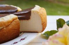 #Receta: Torta de queso con cobertura de chocolate >>>> http://www.srecepty.es/torta-de-queso-con-cobertura-de-chocolate