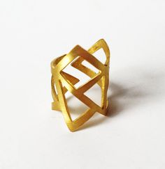 gold+ring++24K+gold+plated+bronze+ring+++by+katerinaki1977+on+Etsy,+$40.00