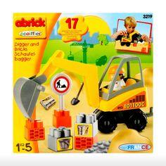 Ecoiffier Toys > 18m+ > Abrick Excavator | Shop Online