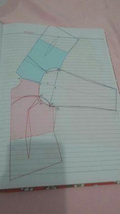 Pola Lengan, Dress Patterns, Sewing Patterns, Tailoring Techniques, Pattern Drafting, Fashion Sewing, Kebaya, Pattern Making, Dressmaking