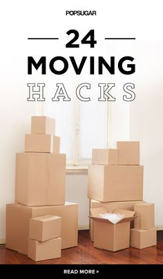 These moving hacks are life-changing.