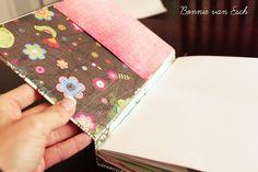 {Tutorial} Handmade Journal Cover