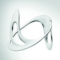 Archival revival - 1960s sketches inspire Georg Jensen's made-to-order collection // Ibe Dahlquist's extraordinary, undulating cuff, which looks not unlike a complex version of a Möbius strip