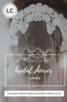 Our suggestions for actually fun games to play!  #bridalshower #kitchenteas #bachelorette #southafricanweddings #weddingplanning #MOH #bridalparty #laughingchefs