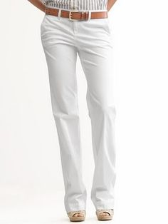 Fixing white pants and pocket show-through