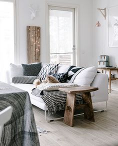 inspiracje w moim mieszkaniu: Drewniane podłogi we wnętrzach / Wooden floors in ...