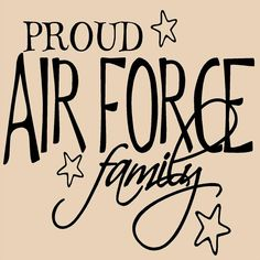 air force proud -